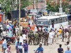 गया के महुआर में अपराधियों ने नक्सली के भाई को गोलियों से भूना, विरोध में ग्रामीणों ने किया सड़क जाम|बिहार,Bihar - Dainik Bhaskar