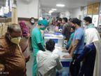 प्रदेश के 21 जिलों में 5 प्रतिशत से कम हो चुका संक्रमण, उनकी तुलना में अलवर में अब भी दोगुनापॉजिटिव दर अलवर,Alwar - Dainik Bhaskar