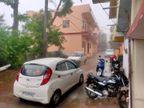 तेज हवा के साथ लगातार दूसरे दिन शाम को भोपाल,सागर और होशंगाबाद में बारिश; जबलपुर में बादल छाए|भोपाल,Bhopal - Dainik Bhaskar