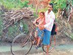 बेटे को थैलेसीमिया, इसलिए ए निगेटिव ब्लड के लिए पिता हर माह एक बार साइकिल से 400 किमी तक करते हैं सफर धनबाद,Dhanbad - Dainik Bhaskar
