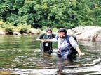 केरल में मेडिकल टीमें नदी पार कर और 17 किमी पैदल चल जंगलों में बसे गांव पहुंच रहीं|देश,National - Dainik Bhaskar