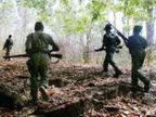 DRG जवानों ने मुठभेड़ में मार गिराया; कंट्री मेड बंदूक, IED सहित अन्य सामान बरामद छत्तीसगढ़,Chhattisgarh - Dainik Bhaskar
