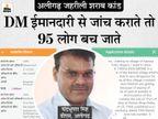 जिन सरकारी ठेकों की शराब पीकर 95 लोगों की मौत हुई, उनकी शिकायत अक्टूबर 2020 में ही हुई थी; DM ने नहीं की कार्रवाई|आगरा,Agra - Dainik Bhaskar