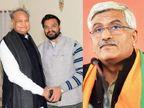 सीएम गहलोत के OSD ने केंद्रीय मंत्री गजेंद्र सिंह की FIR को दिल्ली हाईकोर्ट में दी चुनौती, आज सुनवाई संभव; केस राजस्थान ट्रांसफर करने की मांग|जयपुर,Jaipur - Dainik Bhaskar