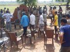 दोस्त से मिलने आए जौनपुर के युवक पर बरसाई गईं ताबड़तोड़ गोलियां, हत्या के बाद गांव में तनाव|वाराणसी,Varanasi - Dainik Bhaskar