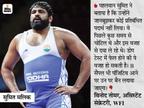 कॉमनवेल्थ गेम्स के गोल्ड मेडलिस्ट पहलवान सुमित डोप टेस्ट में फेल; 2016 ओलिंपिक से पहले नरसिंह भी हुए थे शिकार|स्पोर्ट्स,Sports - Dainik Bhaskar