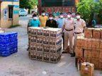 MP से ट्रांसफार्मर की आड़ में उदयपुर लाई जा रही 15 लाख की अवैध शराब, पुलिस ने जब्त कर दो तस्करों को किया गिरफ्तार उदयपुर,Udaipur - Dainik Bhaskar
