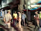 सर्राफा बाजार में हुई चोरी का किया निरीक्षण, कहा - झांसी की नगर जनता को परेशान नहीं होने देंगे|झांसी,Jhansi - Dainik Bhaskar