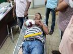 चुनावी रंजिश में ग्राम प्रधान पर जानलेवा हमला; काल्विन हॉस्पिटल में भर्ती कराया गया, हालत चिंताजनक|प्रयागराज,Prayagraj - Dainik Bhaskar