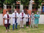 जूडा ने भीख मांगकर किया विरोध प्रदर्शन, कहा- हम गरीब घर के छात्र 750 करोड़ कैसे जुटाएं, भिक्षाटन ही है अब जरिया|रीवा,Rewa - Dainik Bhaskar