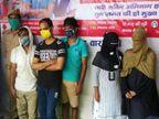 किराए के मकान में चल रहा था धंधा, पुलिस ने मारा छापा तो आपत्तिजनक हालत में 2 युवतियां और 3 पुरुष पकड़े गए|वाराणसी,Varanasi - Dainik Bhaskar