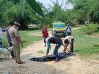 गला दबाकर हत्या करने के बाद शव फेंका दूसरे गांव में, हाल देख पिता बेहोश; एक युवक व दोस्तों पर शक की सूई|वाराणसी,Varanasi - Dainik Bhaskar