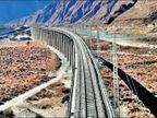 चीन की रेलवे लाइन ने बढ़ा दी भारत की चिंता, तिब्बत में 535 किमी लंबा प्रोजेक्ट विदेश,International - Dainik Bhaskar