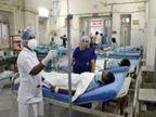 रायपुर के अलग-अलग अस्पतालों में 6 मरीजों का इलाज जारी, सभी कोरोना की चपेट में आए थे|बेमेतरा,Bemetara - Dainik Bhaskar