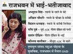तृणमूल सांसद महुआ ने धनखड़ को अंकलजी कहा, बोलीं- अपने परिवार वालों को राजभवन में अपॉइंट किया|देश,National - Dainik Bhaskar