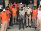 परिजनों के जागने पर आरोपी कुएं में कूदा, ग्रामीणों और पुलिस के प्रयास विफल रहने पर SDRF ने 7 घंटे बाद निकाला|भरतपुर,Bharatpur - Dainik Bhaskar