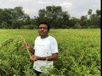 निम्बाहेड़ा के मरजीवी गांव में किसान ने 2019 में नया ट्राय करने के लिए उगाई अश्वगंधा के फसल, कोविड ने कर दिया दुगुना मुनाफा; दो सालों से जुड़ रहे हैं अन्य किसान|चित्तौड़गढ़,Chittorgarh - Dainik Bhaskar