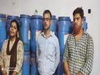 जहरीले केमिकल से बना रहे थे खाने वाला नकली रंग, पुलिस ने छापेमारी करके किया खुलासा, फैक्ट्री संचालक महिला समेत तीन गिरफ्तार|कानपुर,Kanpur - Dainik Bhaskar