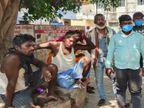 आरा-सिन्हा मार्ग पर पिकअप ने बाइक सवार मछली विक्रेता को ठोकर मार दी, अस्पताल ले जाने के क्रम में दम तोड़ा|भोजपुर,Bhojpur - Dainik Bhaskar