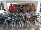 UP समेत हरियाणा व राजस्थान में करते थे चोरी, तीन आरोपी गिरफ्तार; पुलिस ने 10 की बरामद|मथुरा,Mathura - Dainik Bhaskar
