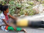 खरकई नदी में मिला युवक का शव, मां ने हत्या का लगाया आरोप; पिता जेल में है बंद|झारखंड,Jharkhand - Dainik Bhaskar