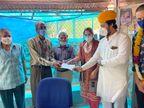 अब समाज के लोगों ने श्मशान का विकस करने का उठाया बीड़ा, पार्षद ले काम का जायजा लिया|जोधपुर,Jodhpur - Dainik Bhaskar