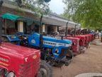 अंतरराज्यीय चोर गिरोह से 18 ट्रैक्टर बरामद, 3 गिरफ्तार|झांसी,Jhansi - Dainik Bhaskar