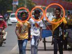 कोविड-19 प्रोटोकॉल का उल्लंघन करने में UP के पहले स्थान पर प्रयागवासी, नियम तोड़ते रहे और पुलिस वसूलती रही जुर्माना|प्रयागराज,Prayagraj - Dainik Bhaskar