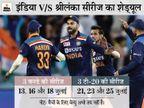 दोनों टीमें जुलाई में 3 टी-20 और 3 वनडे सीरीज खेलेंगी, द्रविड़ बतौर कोच टीम के साथ जा सकते हैं|क्रिकेट,Cricket - Dainik Bhaskar