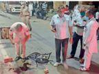 पटेल नगर में हिस्ट्रीशीटर शिखंडी की चाकुओं से गोद कर हत्या 31 मई को हुआ था झगड़ा, पुलिस इससे जोड़कर कर रही जांच हिसार,Hisar - Dainik Bhaskar