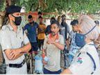 आरपीएफ के मुलाजिमों ने पहले दुकानदार को पीटा, फिर माफी मांगकर छुड़ाई जान|जालंधर,Jalandhar - Dainik Bhaskar