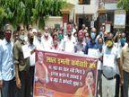 36 महीने से लाल इमली कर्मचारियों को नहीं मिला वेतन, विधायक सुरेंद्र मैथानी के घर का घेराव कानपुर,Kanpur - Dainik Bhaskar