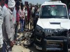 NH-30 पर जीप की टक्कर से बाइक सवार बुजुर्ग की मौत, भेड़ाघाट रोड पर हुए दूसरे हादसे में घायल व्यक्ति ने दम तोड़ा|जबलपुर,Jabalpur - Money Bhaskar