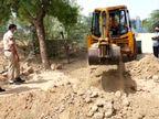 नहीं मान रहे बजरी माफिया, पुलिस ने गांववालों से इनकी सूचना देने की अपील की, रास्तों को जगह-जगहजेसीबी से खोद भी डाला|सवाई माधोपुर,Sawai Madhopur - Money Bhaskar