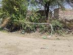 झीतड़ा में आधी रात को ग्रामीणों ने गांव के चारों तरफ खींची लक्ष्मण रेखा, बोले सालों पुरानी परम्परा, कोरोना से ईश्वर करेंगे रक्षा|पाली,Pali - Money Bhaskar