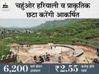 नाग पहाड़ की तलहटी में चल रहा है पार्क का निर्माण कार्य, दीवारों को दिया जा रहा हेरीटेजलुक अजमेर,Ajmer - Dainik Bhaskar