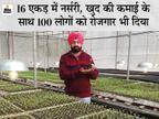 खेती छोड़ सब्जियों की नर्सरी तैयार की, हर साल 8 करोड़ बीज का प्रोडक्शन; अब MP-राजस्थान के साथ इटली में भी सप्लाई|DB ओरिजिनल,DB Original - Dainik Bhaskar