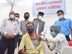 पहली बार एक दिन में 40 हजार से ज्यादा लोगों ने लगाई वैक्सीन- सबसे ज्यादा 18+ के 33470 नागरिकों ने लगाया टीका भोपाल,Bhopal - Dainik Bhaskar
