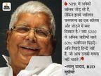 राजद प्रमुख का सवाल- कुत्ता और बिल्ली तक की गिनती होती है तो पिछड़ों की क्यों नहीं, इनकी असली आबादी से किसको डर है|बिहार,Bihar - Dainik Bhaskar