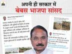 जालौन के सांसद ने कहा- उरई में पुल का घटिया निर्माण हो रहा, शिकायत की पर कोई सुनता नहीं उत्तरप्रदेश,Uttar Pradesh - Dainik Bhaskar