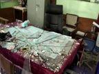 प्रिंसिपल रूम की टेबल पर रखा कांच टूटा, गनीमत रही कि कमरे में कोई नहीं था; वरना हो सकता था हादसा|पाली,Pali - Dainik Bhaskar