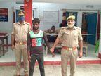 अवैध मादक पदार्थ के साथ एक गिरफ्तार, पुलिस की वांटेड लिस्ट में था शामिल, लंबे समय से थी तलाश|अयोध्या,Ayodhya - Dainik Bhaskar