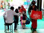 थर्मल स्क्रीनिंग के बाद यात्रियों को दिया गया प्रवेश, वहीं टिकट काउंटर पर भीड़ कम करने के लिए शुरू किया ऑनलाइन डिस्काउंट|उदयपुर,Udaipur - Dainik Bhaskar