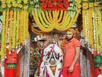 फूलों से महका कनक भवन हनुमानगढ़ी, भव्य फूल बंगला में सजे भगवान, दर्शन कर धन्य हुए श्रद्धालु|अयोध्या,Ayodhya - Dainik Bhaskar