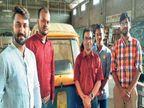 जमशेदपुर के दो युवाओं ने साथियों संग मिलकर बनाया इलेक्ट्रिक रेट्रो-फिट ऑटो, 6 महीने में सड़क पर दौड़ेगा|जमशेदपुर,Jamshedpur - Dainik Bhaskar