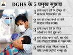 कोरोना संक्रमित बच्चों पर सीटी स्कैन का समझदारी से इस्तेमाल करें, रेमडेसिविर देने पर रोक; 6 मिनट के वॉक टेस्ट की सलाह|देश,National - Dainik Bhaskar