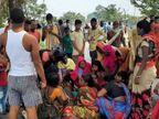 दो बाइक से आए 6 अपराधी; दुकानदार के सिर और पेट पर दागी गोलियां, 30 जून को तय थी शादी मुंगेर,Munger - Dainik Bhaskar