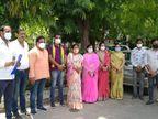 BJP कार्यकर्ताओं ने सरकार के खिलाफ खोला मोर्चा, कहां - वापस हो निलंबन; वरना होगा प्रदेशव्यापी आंदोलन|उदयपुर,Udaipur - Dainik Bhaskar