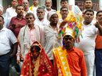 गया में 12 दिनों बाद मंदिर में कराई गई शादी, डांस को लेकर बारात में हुआ था विवाद, दूल्हे को लेकर वापस आ गई थी बारात बिहार,Bihar - Dainik Bhaskar