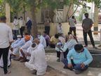 बच्चों के झगड़े में दो पक्ष उलझे, समझाकर लौटी पुलिस तो रात को बदमाशों ने की फायरिंग, घरों पर फेंके पत्थर, जमकर हंगामा|अलवर,Alwar - Dainik Bhaskar